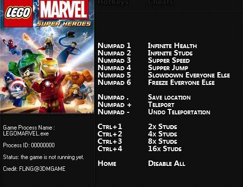 чит коды для игры лего марвел супергерои на деньги