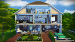 Дома симс 4 проект – Жилые дома — Дома, общественные участки для Sims 4 — Каталог файлов Симс 4